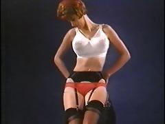 wasting my time - vintage nylon striptease nylons