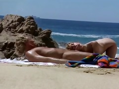 beach sex scene from retro movie scene xxx