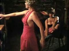 busty hotty from some german video scene