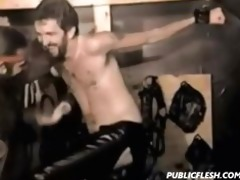 vintage gay slavery thrashing