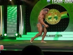 musclebull jose: posing routine arnold classic