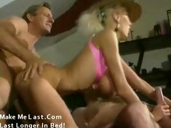 classic porn with biggest bazookas golden-haired