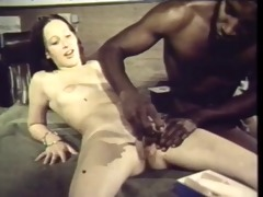 vintage: 4101s interracial black brown takes