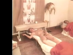 morning jerk off in the dorm- vintage