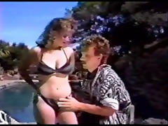 jeanna worthwhile gives poolside bj