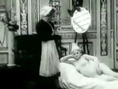 vintage erotic clip 10 - the saucy chambermaid