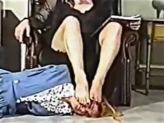 vintage foot headmistress