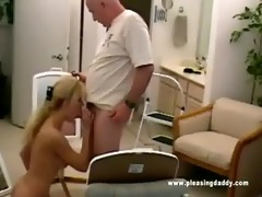 nicole moore sucks off dave cummings old pecker