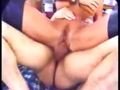 classic busty brunette hair hair banging in