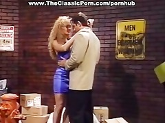 pretty blonde classic porn star