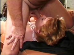 sexy mature sharin banging on couch