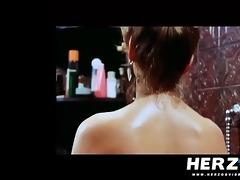 german blonde chick screwed in a retro porn clip