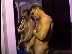 unshaved muscle dad stroke