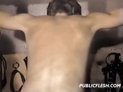 way-out homosexual whipping and bdsm