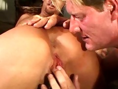 hot lascivious golden-haired mommy & her 5