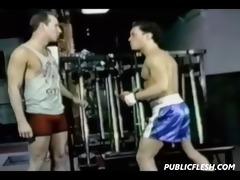 retro homosexual pounder spanking