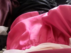 pink french knicker cum