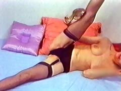 bend it is - vintage stockings redhead nylons