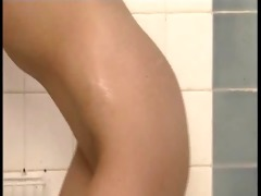charming lesbians fisting in shower