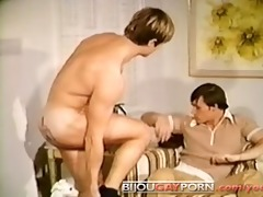 tattooed stud blowjob, 82 & massive cumshot -