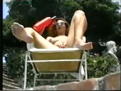 a summer day. (classic lesbian scene)