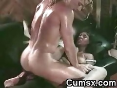 ghetto floozy with big marangos fucked and cock