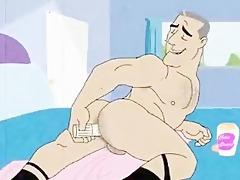 gay retro manga