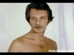 retro homosexual fisting and hardcore