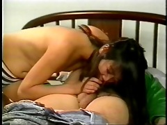 hot tiny asian deepthroats a bulky pounder before