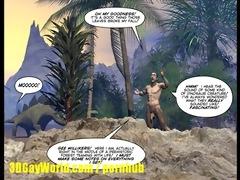 cretaceous penis 5d homosexual comic story about