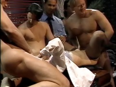 tina tyler gangbang. lots of sex cream to finish!