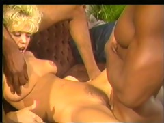 dark analist - amber lynn receives 2 bbcs
