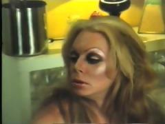 (vintage) transsexual tricks dude into sex