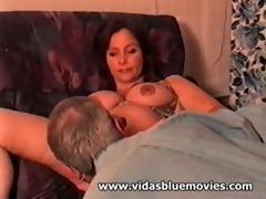 vida garman - pregnant blow job sex