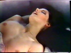 brunette hair girl caroline grace fucks &;