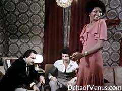 vintage euro porn 10836s - interracial