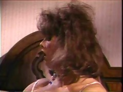 vintage tv enjoys her vibrator