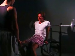 young barefoot workout - scene 7