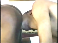 black guy wench gets his booty fingered and his