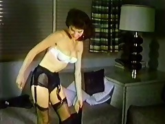 one night - vintage stockings nylons striptease