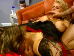 sally llayd in a superhot threesome