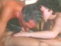 non-professional sensual bi-sex three-some