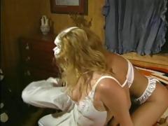 vintage blonde lesbian threesome