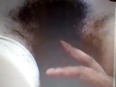 hairy nurse with darksome patient