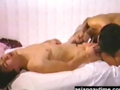 a vintage japanese gay video