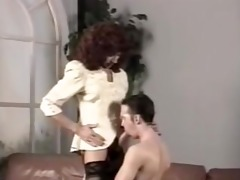 vintage cd in nylons fucking a chap