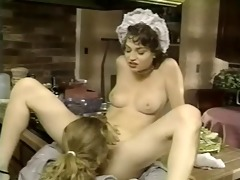 french maid screwed in the kitchen