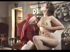 retro oral-job creampie with nun