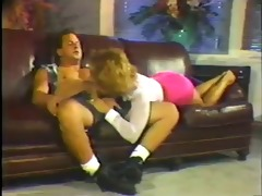 leather sofa sex session